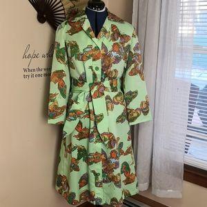 Vintage 1960s mod psychedelic dress